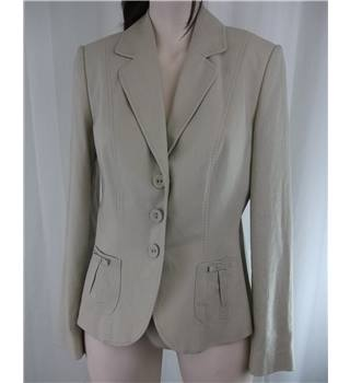 M&S Marks and Spencer - Size 10 - Beige Jacket