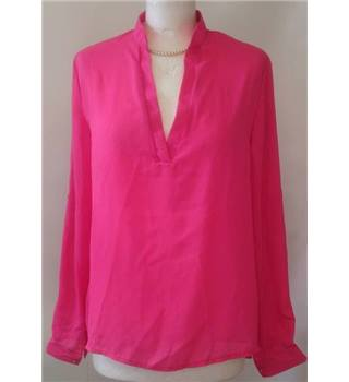 BNWT Zanzea Collection size: L bright pink blouse