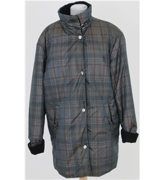 Gerry Weber, size 14 black mix checked coat