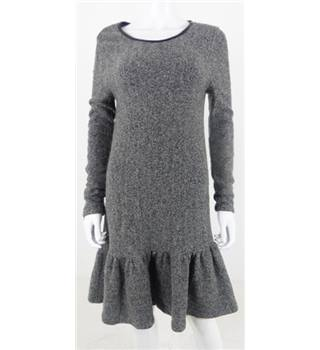 Whistles Size: 12 Grey Knitted Dress