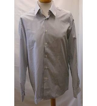 BNWT- Savile Row - 15 - Grey - Shirt Savile Row - Size: M - Grey - Long sleeved