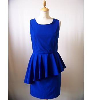Apricot - Size: XS - Blue - Knee length dress