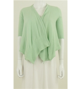 Calypso St Barth Lime Green Cashmere Cardigan
