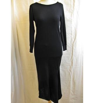 Alberta Ferretti Black Dress Alberta Ferretti - Size: 10 - Black