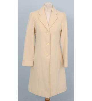 Kenneth Cole - Size: 4 - Cream coat