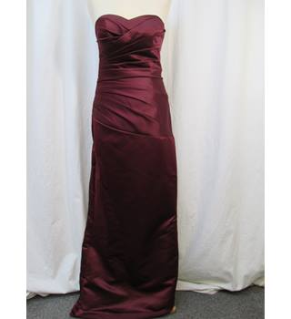 Unbranded - Size: 10 - Burgundy - Prom dress