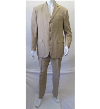 M&S Collezione  Beige - Single Breasted Suit