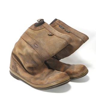 Dubarry of Ireland - Size: 7.5 - Mid Brown - Men's Calf-length Boots