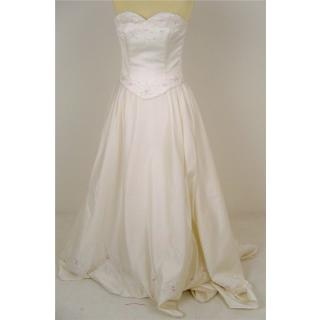 High Society by Jacquie Lawrence, size 12 ivory embroidered two-piece wedding gown