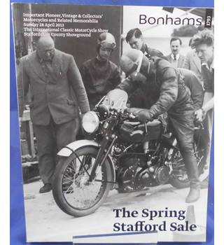 Bonhams Catalogue: The Spring Stafford Sale 2013