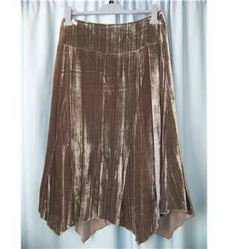 Principles size: 12 brown calf length skirt