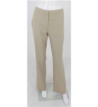 Michael Kors Size 6 Beige Bootcut Trousers