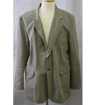 John Rocha Smart Green Blazer Size XL John Rocha - Size: XL - Green - Single breasted suit jacket