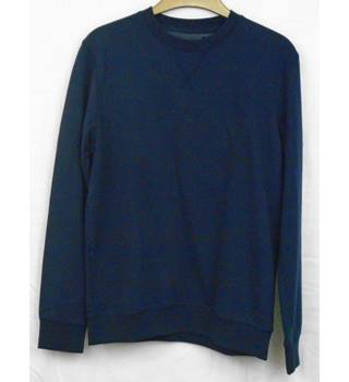 BNWT Atlantic Bay navy sweatshirt Size S