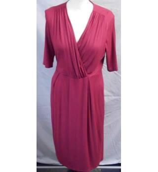 L K Bennett  Size: 12 Pink calf length dress