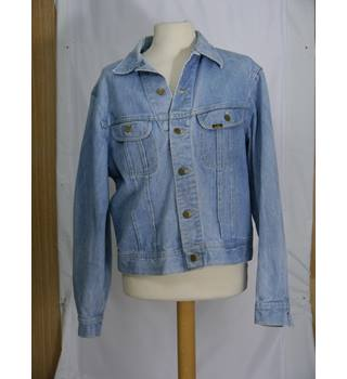Vintage Lee - Size: M - Blue - Denim jacket