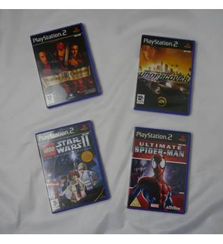 Playstation 2 Games Bundle