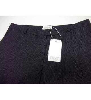 BNWT - TOAST - Size: 14 - Charcoal Pinstripe - Trousers