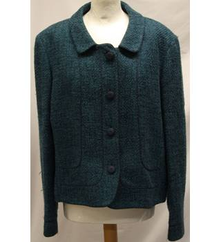 Caroline Charles, London - Size: 18 - Blue - Smart jacket / coat