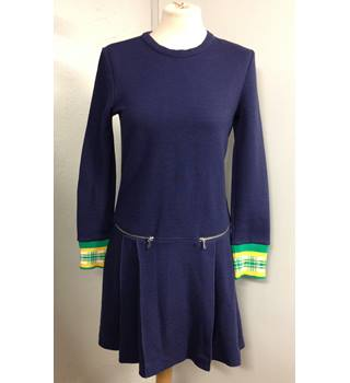 Marc Jacobs Navy Blue Dress Marc Jacobs - Size: S - Blue - Knee length dress
