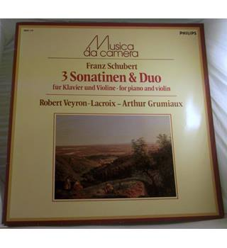 """Schubert -3 Sonatinen & Duo"" LP - 6503 116"