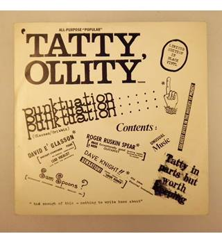 Punktuation / Never Swat A Fly (7inch) Tatty Ollity - T. R. 101