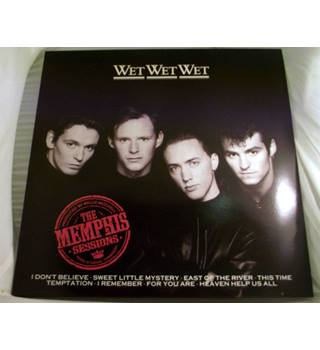 """The Memphis Sessions"" LP by Wet Wet Wet - JWWWL 2"