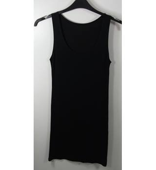 Marks & Spencer Lingerie Black Full Slip Size 12