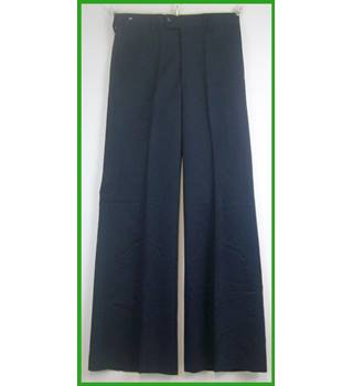 "BNWT - vintage - Trutex 4 Teen - Size: 29"" - Blue - Trousers flares"