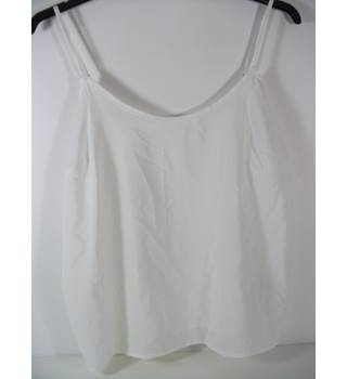 Marks & Spencer Cream Camisole Top Size 14