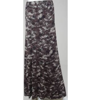 Marks & Spencer Collection Brown Maxi Skirt UK Size 18 / Euro Size 46