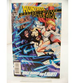 Worlds' Finest: Huntress and Power Girl #16