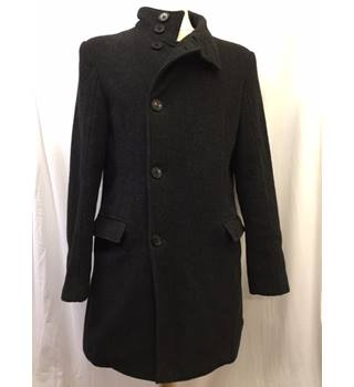 Men's Wool Mix Coat by Ventuno21 (Moss Bross), Size M