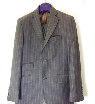 Ted Baker - Size: S - Brown - 3 piece suit