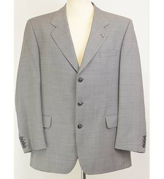 "Greiff Triathlon - size: 42"" chest, grey single breasted suit"