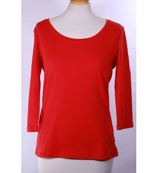 BNWT Mia Moda Size 16 Red Long Sleeve Top