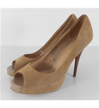 Jasper J Conran Size 6 Mocha Brown Stiletto Shoes