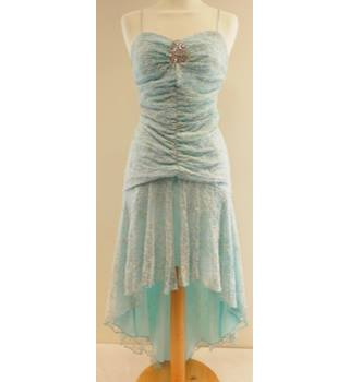 Yve London - Size: 8 - Blue - Cocktail dress
