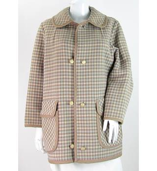 VINTAGE Wetherall - Size: 16 - Brown or Blue - Reversible Coat