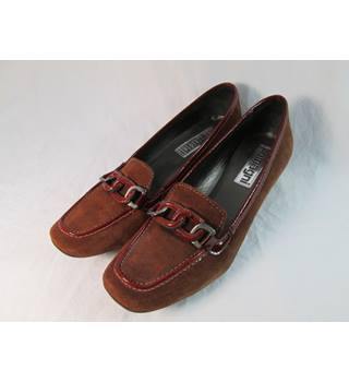 Zamagni - Size: 6.5 - Brown Suede - Flat shoes
