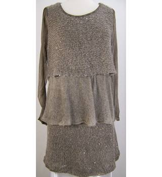 Italian Layered Tunic Top - Size Medium