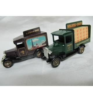 Two Lledo Promotional Model Cars