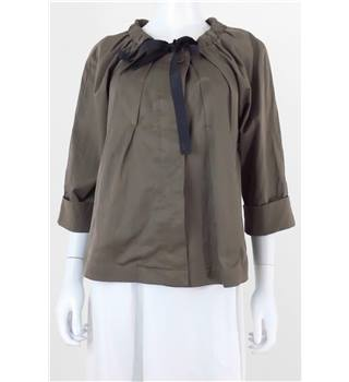 Untold size: 8 brown lightweight jacket