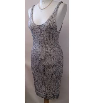 H&M Size 12 Silver Party Dress
