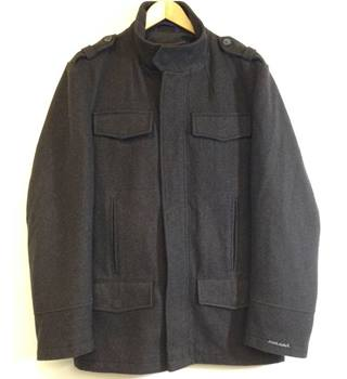 Lambretta size X Large Dark Brown Overcoat