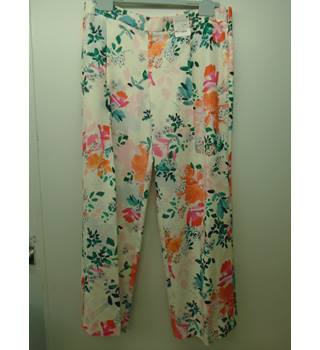 Per Una - Size: 18R Multi-coloured  Trousers (L3)
