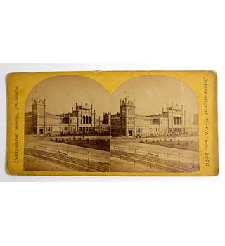 Philadelphia Centennial 1876 - 3 Stereoscopic views