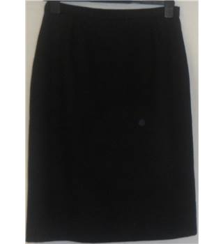 Vintage Richards - Size: 14 - Black - Casual Skirt