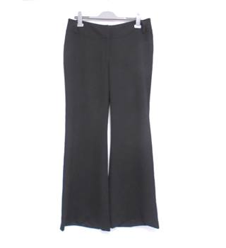 French Connection - Size 16 - Black Wide Leg Trousers