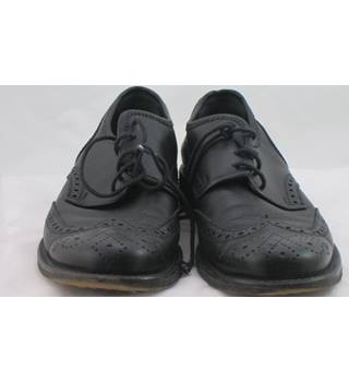 Miu Miu, size 5/38 black leather brogues